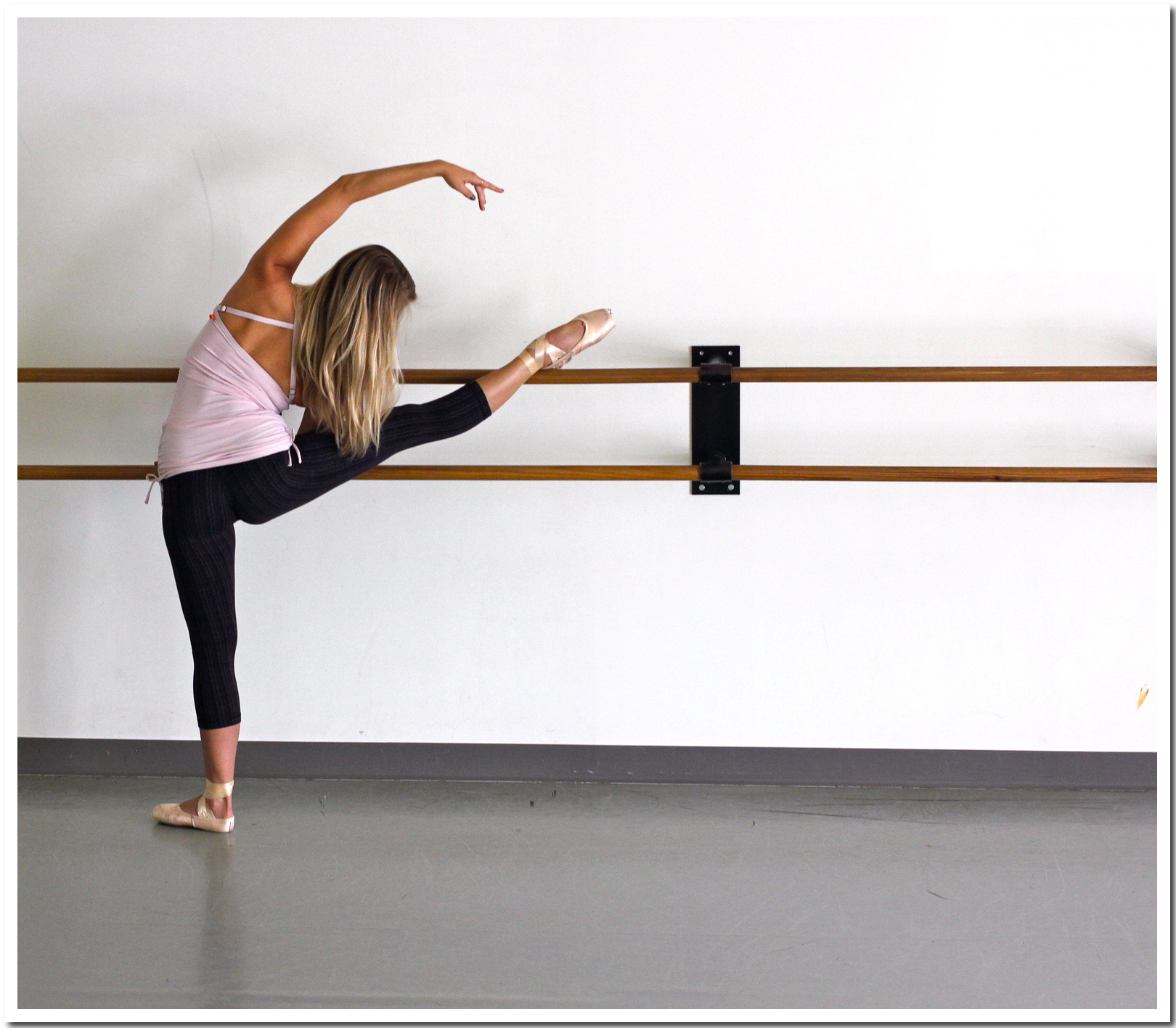 Back at the barre