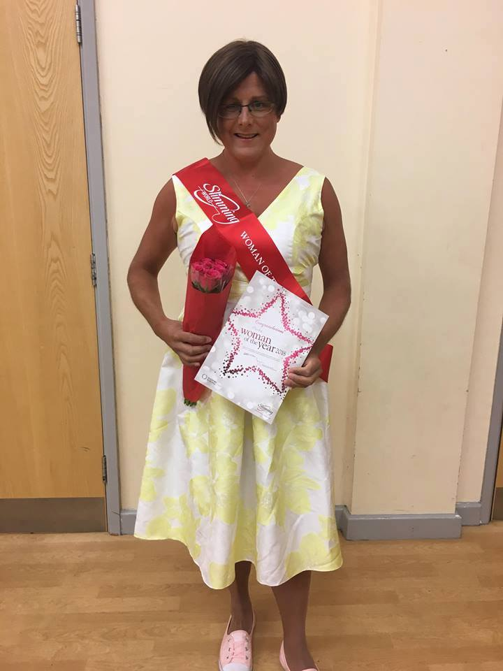 I'm Slimming World Woman of the Year!